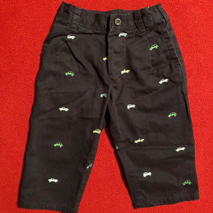 OshKosh embroidered pants with vintage cars